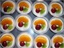 Puding Buah Rice Pudding Recipes, Pudding Desserts, Cake Recipes, Puding Cake, Resep Cake, Jello With Fruit, Cake Oven, Agar Agar, Steamed Cake