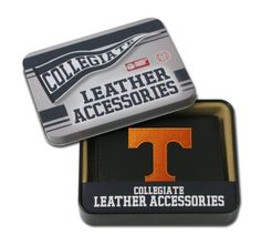 NCAA Tennessee Volunteers Embroidered Trifold Wallet by Rico. Save 3 Off!. $24.28