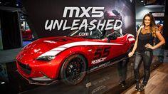 ND Miata - Global MX-5 Cup Car - Interview at 2014 SEMA #ndmiata #miatand #miata #nd #seam #2014 #mx5 #mk4 #gen4 #seam2014 Mazda, Interview, Vehicles, Car, Sports, Awesome, Hs Sports, Automobile, Sport