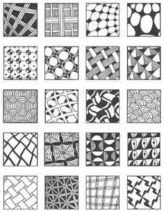 Дудлинг узоры могут выглядеть как угодно! Главное – не раздумывать над четкой композицией, а рисовать хаотично. Галерея узоров дудлинг для начинающих.