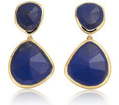 The Siren Cocktail Earrings in #lapislazuli