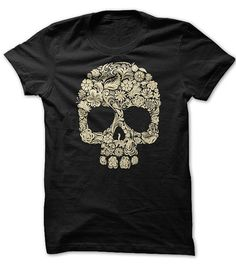 Halloween Floral Skull T-Shirts, Hoodies. SHOPPING NOW ==►…