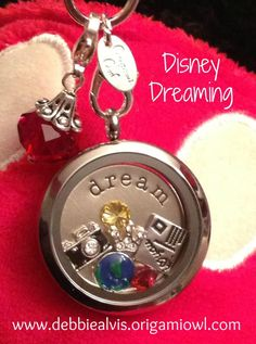 Disney inspired Origami Owl Locket ordering mine this week just need to figure out what I want in mine