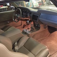 FB TheHogRing.com  · Check out the interior of this ‪#‎mustang‬ upholstered by @timelessstitcher