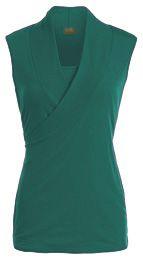 Sleeveless crossover nursing top - nursing tank tops - Milk Nursingwear, $19.99