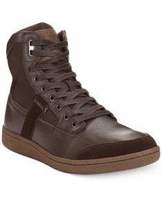 a0fcc89b8bd Diesel Contempo Voyager Hi-Top Sneakers - Shoes - Men - Macy s Shoes Men