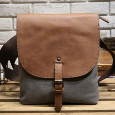 491540c2befa 59 Best CANVAS   LEATHER MENS BAGS images