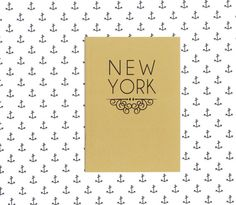 New York notebook - travel journal