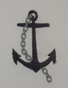 Digital embroidery Designs  Anchor and by EmbroideryDesignsBRN