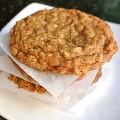 Gluten Free Oatmeal Cookies- Mom, What's For Dinner?