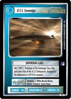 Star Trek Ccg, Star Trek Ships, Uss Enterprise, Space Crafts, Timeline, Trekking, Card Games, Science Fiction, Sci Fi