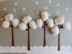 Great Winter craft for the kiddies! Excited for the snow :)