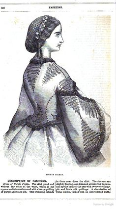 Page 1 of 2, 1863 Frank Leslie's Ten Cent Monthly - Google Books civil war era fashion
