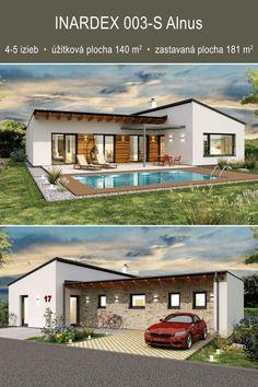 Navrhneme vám zdravé nízkoenergetické a pasívne domy. Murované alebo ako drevodomy. Ukážka z nášho katalógu. . . . . . . . . . . . . . . . . . . . . #rodinnedomyprojekty #rodinnedomynakluc #domynakluc #bungalov #bungalow #projektydomov #katalogdomov #katalogovedomy #modernedomy #montovanedomy #drevodom #pasivnedomy #projektydomov2020 #projektydomov2021 #rodinnedomy #rodinnydom Mansions, Home Fashion, House Styles, Home Decor, Decoration Home, Manor Houses, Room Decor, Villas, Mansion