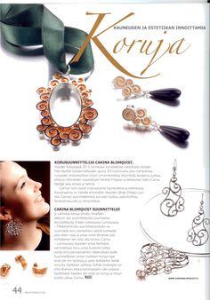 Muotimaailma | Kauneuden ja estetiikan innoittamia koruja | Carina Blomqvist #carinablomqvist #design #jewelry