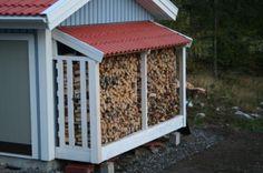 Best ideas for outdoor storage box diy garage Outdoor Firewood Rack, Firewood Shed, Firewood Storage, Outdoor Storage, Wood Storage Sheds, Outdoor Rooms, Outdoor Decor, Swedish House, Diy Garage