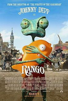 Rango -- it's not in 3D, and it hardly matters, if you like magical realism and Johnny Depp (or at least his voice)