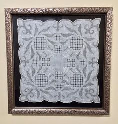 How to Display an Antique Lace Hankie http://anastasiapollack.blogspot.com/2018/03/crafts-with-anastasia-antique-lace.html