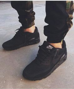 fd7856c98eb80f shoes black all black nike nikes air max sneakers girls where   pants mens  shoes jacket jeans all lack kicks nike air cargo swag blacknikes black air  max ...