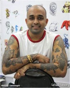 Top 10 Tattoo Parlours In India