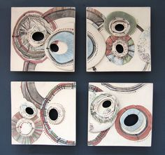 Inspired by microbiology - Linzi Ramsden Ceramics//I fell a lesson plan coming on