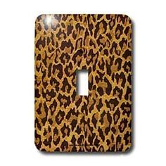 Lee Hiller Designs RAB Rockabilly - Leopard Print Gold and Brown - Light Switch Covers - single toggle switch by Lee Hiller, http://www.amazon.com/dp/B003AD7C6O/ref=cm_sw_r_pi_dp_BrNNrb0VVEJHF