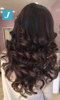 Gorgeous brown hair for fall
