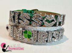 Charmsations - Kiss Me I'm Irish Double Bracelet Set, $23.00 http://www.charmsations.com/#oid=1027
