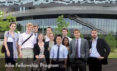 Alfa Fellowship Program for young professionals to Russia