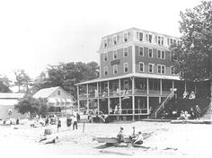 ChesapeakeHouse was the principal hotel at Betterton Beach, captured ...