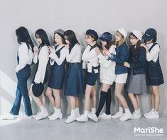 korean fashion similar twin look blue navy white skirt shirt dress hat casual Korean Street Fashion, Korea Fashion, Asian Fashion, Fashion 2017, Daily Fashion, Girl Fashion, Fashion Outfits, Fashion Trends, Asian Style