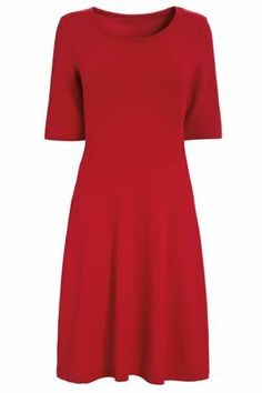 Buy Red Jersey Skater Dress from the Next UK online shop £30