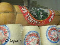 Metsovone and ladotyri cheese