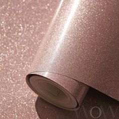 home Wallpaper 2018 - Luxe Glitter Sparkle Wallpaper Rose Gold Windsor Wallcoverings Rose Gold Glitter Wallpaper, Glitter Wallpaper Bedroom, Glitter Room, Sparkle Wallpaper, Rose Gold Wallpaper, Home Wallpaper, Glitter Uggs, Glitter Walls, Glitter Vinyl