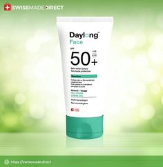 Daylong #Sunscreen Face Gel is an advanced cream that glides on your face for superior protection from sun, wind, and sea. This is quick-absorbing Swiss cream, which adds a #healthy glow to your face skin. Buy Now. Face Skin, Sun Protection, Sunscreen, Creme, Glow, Personal Care, Sea, Healthy, Stuff To Buy