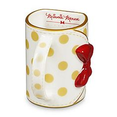 Disney Minnie Mouse Purse Mug | Disney StoreMinnie Mouse Purse Mug - Fashionista Minnie knows it's important to look good, even when you're enjoying a refreshing drink. Designed in the form of a stylish purse, and part of Minnie's Signature series, this ceramic cup combines Minnie's trademark bow and polka dots.