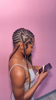 Braided Hairstyles For Teens, Feed In Braids Hairstyles, Braids Hairstyles Pictures, Teen Hairstyles, Heart Hairstyles, Bts Hairstyle, Braided Cornrow Hairstyles, Athletic Hairstyles, Sporty Hairstyles