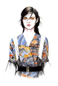 Illustration by Caroline Andrieu