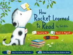How Rocket Learned to Read iPad app/book. Great for kids who have started reading
