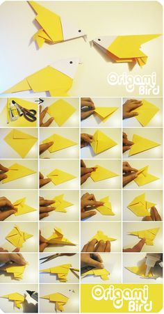 Estilo Dach Arte&Deco: Origami Bird ;)