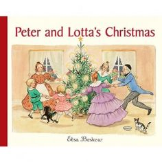 Peter and Lotta's Christmas by beloved children's author and illustrator, Elsa Beskow. From Bella Luna Toys. $17.95