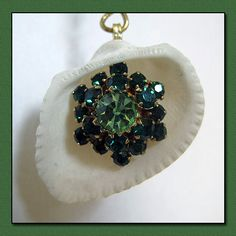 One lovely vintage earring ready to shine for all the world to see.