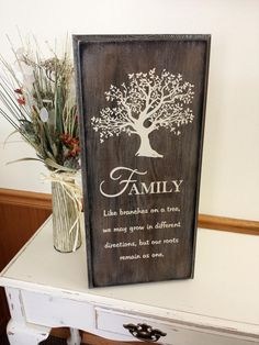 Family like branches on a tree we may grow by BeautifulBySisters