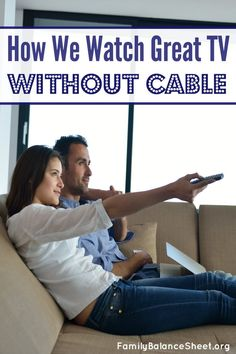 Our cable TV bill doubled! So we said good-bye to cable, yet we still watch great TV AND we're saving over $50 a month. Yes, it IS possible to watch awesome TV without cable.
