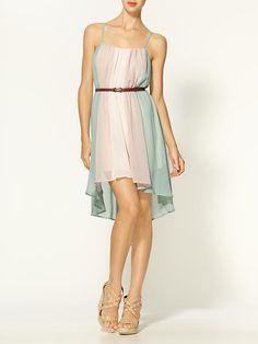 C. Luce watercolor dress $59