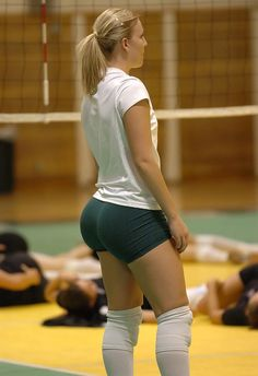 Volleyball Booty via Booty of the Day at bootyoftheday.co