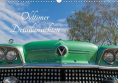 Oldtimer Detailsansichten - CALVENDO Mit Liebe zum Detail. Darauf sind Oldtimerfans stolz. Wir haben genau hingeschaut. Brilliante Großaufnahmen von klassischen Oldtimern. Steigen Sie ein und reisen Sie mit in die Zeit der eleganten Limousinen.