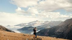 Trail Ridge Road engagement session in Rocky Mountain National Park, Colorado. Brett Brooner Photography.
