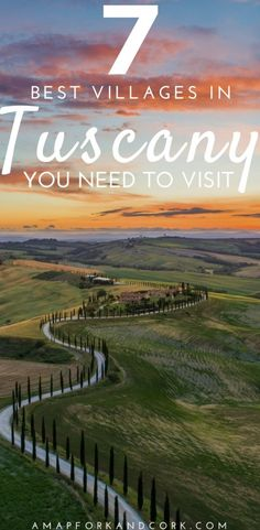 The 7 best villages in Tuscany to visit with all the great things to do! Tuscany Italy Things to do # The post The 7 Best Villages in Tuscany appeared first on Woman Casual - Travel Cinque Terre, Places To Travel, Places To See, Travel Destinations, Holiday Destinations, Italy Travel Tips, Travel Europe, Japan Travel, Budget Travel