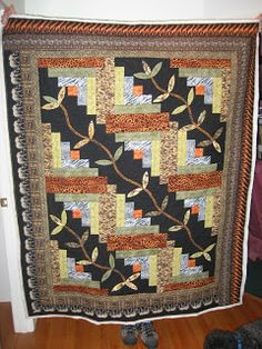 Quilting Log Cabins On Pinterest Log Cabin Quilts Log